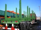 13m bois de construction de 2 essieux/de transport remorque en bois semi (SH9320T)