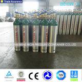 Gasfles van de Cilinder van de Zuurstof van het Aluminium van de hoge druk de Naadloze Medische