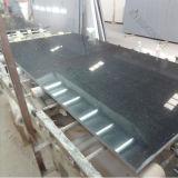 Pierre moderne noire de quartz pour la vanité de salle de bains