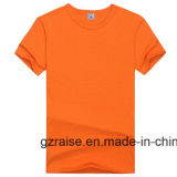 남녀 공통 도매 라이트급 선수 t-셔츠 120 그램 100%년 폴리에스테 관례