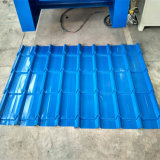 Telhado & parede vitrificados de telha da camada dobro da alta qualidade que fazem a máquina