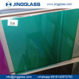 Polished Edge Tempered Ceramic Frit Silk-Screen Printed Colored Glass