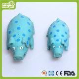 Brinquedos de brinquedos de porco manchados de brinquedo de látex 22cm (HN-PT418)