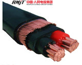 Câble concentrique en alliage d'aluminium série 8000 2 * 6AWG