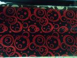 Floco de dupla camada de tecido para mobiliário e sofá