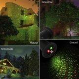 Luce laser solare della stella del riflettore impermeabile del proiettore per la festa di natale di paesaggio dell'iarda del giardino