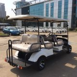 Dongfeng White Smart&Multifunctional Electric Vehicleか6 Seats (EQ9042)のBattery Car (Golfのために)