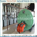 通常の圧力正常な圧力ガス燃焼の石油燃焼の熱湯ボイラー