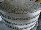 emballage structuré ridé tissé de treillis métallique de l'acier inoxydable 304 316L