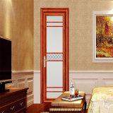 高品質の側面のハングさせたアルミニウム開き窓によって蝶番を付けられる振動ドア(FT-D70)