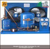Chambre froide de l'unité de condensation du compresseur refroidi par air