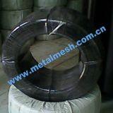 Fil électrique galvanisé pour fil de reliure