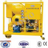 Máquina doble de la filtración del aceite aislador del vacío de la etapa