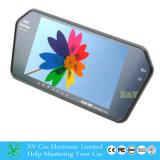 Retrovisor do carro do Monitor LCD TFT de câmera de ré, MP5 Bluetooth 7 polegadas Monitor Retrovisor Xy-2058