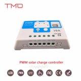Utilisation d'accueil hors réseau 50A 60A LCDChargeur solaire MPPT contrôleur PWMavec USB