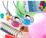 携帯用創造的な小型クリスタル・ボールLED無線Bluetoothのスピーカー