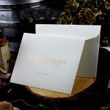 Envelope de Papel para Embalagem de Presentes com Logo Foiled Wjl-En021