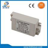 Transformador de potência constante do diodo emissor de luz do UL 12V 1A do excitador do diodo emissor de luz da tensão com a caixa plástica branca