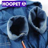 Approvisionnements de vêtements de chien de chemise de denim de mode de Hoopet