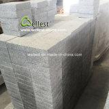 piedra de pavimentación martillada Bush gris clara de la calzada del granito de los 20X20cm