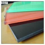 Decoração Ultra Claro/ baixa o vidro painel contra salpicos coloridos lacadas de ferro