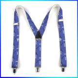 Personifizierte Firmenzeichen gestempelte x-Form-Leder-Befestigungs-Gummiband-Aufhängevorrichtung