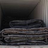 Морские запуская варочные мешки для корабля, поднимаясь тяжелой конструкции
