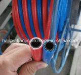 Tubo flessibile della saldatura del gemello di consegna dell'acetilene e dell'ossigeno