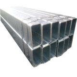 Tubazione galvanizzata Reatangular vuota d'acciaio della sezione di JIS G 3466