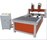 4 Mittellinien-Holzbearbeitung CNC-Fräser 1325 mit unabhängiger Drehmittellinie