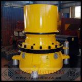 石造りの円錐形の油圧より粗野か機械または装置