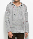 Pull gris taille haute Hoodies