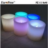 Wasserdichtes Licht der Batterie-LED mit Fernsteuerungsparaffin-Kerze-Wachs