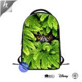 Owl imprimer sac à dos pour ordinateur portable pour les femmes de l'école les enfants Bookbag personnalisé