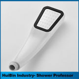 Quadratischer fester Messinghanddusche-Kopf - einzelne Spray-Handdusche der Funktions-1 mit leistungsfähigem Hochdruck