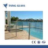 Le verre trempé pour mur rideau/Meubles/les escaliers et des clôtures/porte