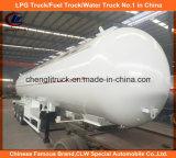 Acoplado del tanque del acoplado 25tons LPG del gas de ASME 56000L LPG para Tanzania