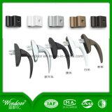 Guichet simple en verre Inférieur-e d'inclinaison et de spire de PVC de carreau avec le coût bon marché