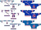 Настраиваемые Онтарио хоккейной лиги Китченер рейнджеров 1994-2009 Home/дорожных Хоккей Джерси