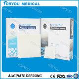 Alginate Diabetic Alginate AG do cálcio da venda dos produtos do cuidado da ferida do cuidado de pé que veste a limpeza antimicrobial do Alginate