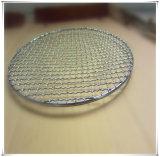 Сетка волнистой проволки серебра гальванизированная BBQ