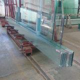 Fabrik, die 12mm das transparente super große ausgeglichene Glas behandelt