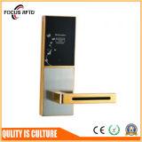 アクセス制御ホテルのハンドルのドアロックサポートMIFAREおよびTemicのカード