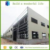 Faible coût de l'atelier d'usine de fabrication de structures en acier de construction préfabriqués