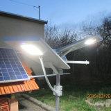 60W Bluetooth APP la iluminación exterior en una sola calle la luz solar