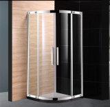 304 Edelstahl-Rahmen-Doppelt-Rad-Rollen-Dusche-Kabine-Dusche-Raum