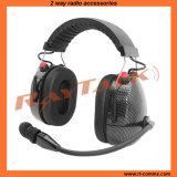 Réduction du bruit du casque multifonction lourd pour radio bidirectionnelle