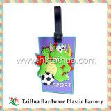 Tag macio da bagagem do PVC do curso Eco-Friendly