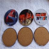 昇進のギフトの錫のコースターか円形の錫のコースターセット