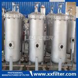 Alloggiamento del filtro a sacco dell'acciaio inossidabile per la filtrazione industriale dell'acqua